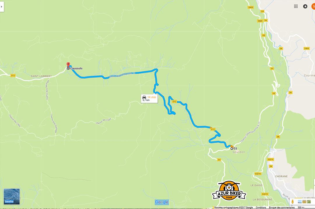 Gourdon-caussols-Azur-Biker-Tour