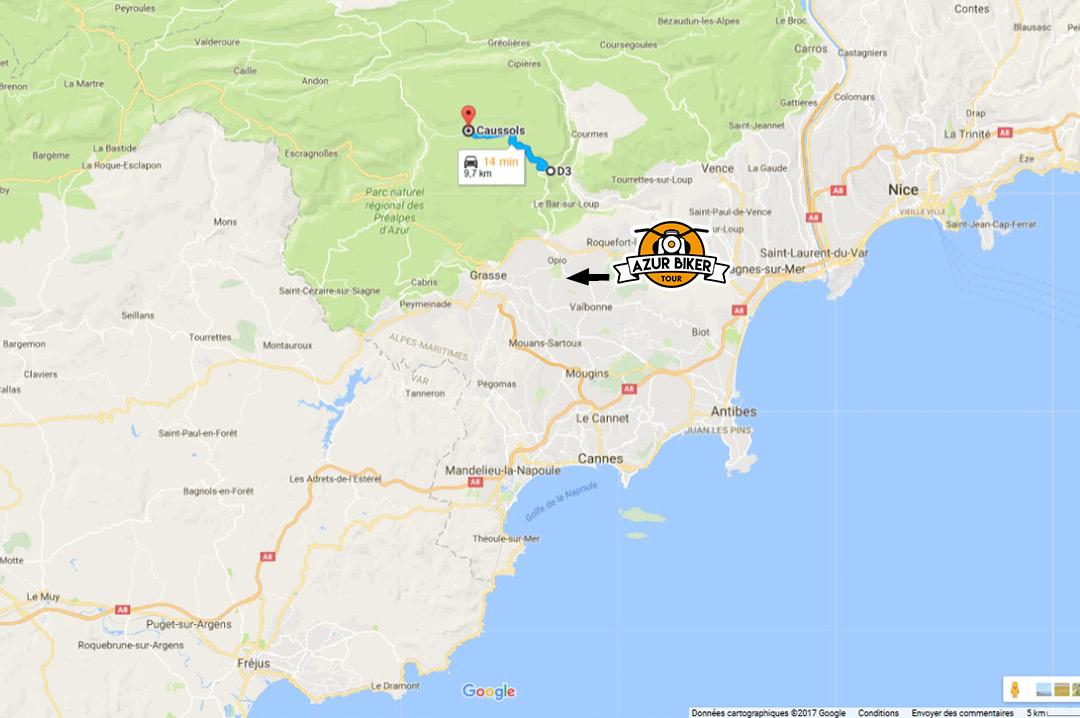 situation-Gourdon-caussols-Azur-Biker-Tour