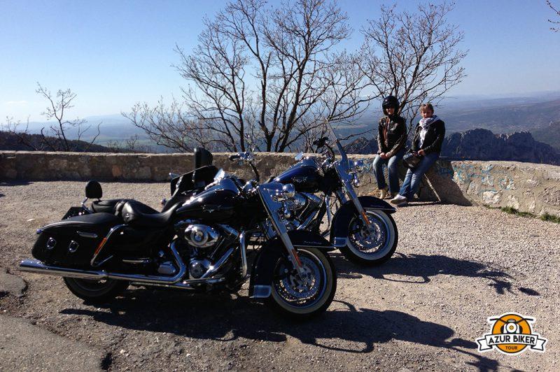Balade en Harley pour la journée