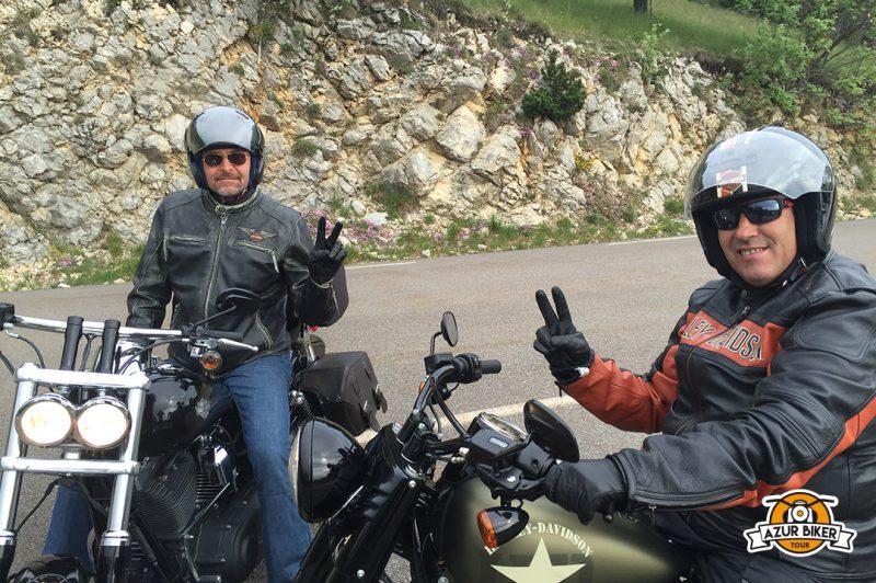 Sorties moto organisées