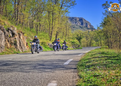 Itinéraire balade moto