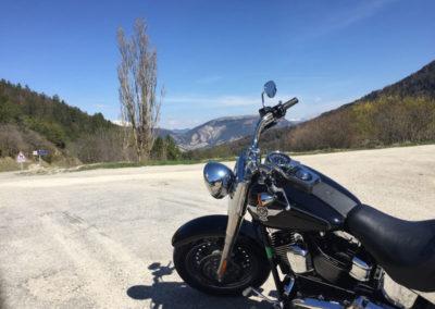 Location Harley journée
