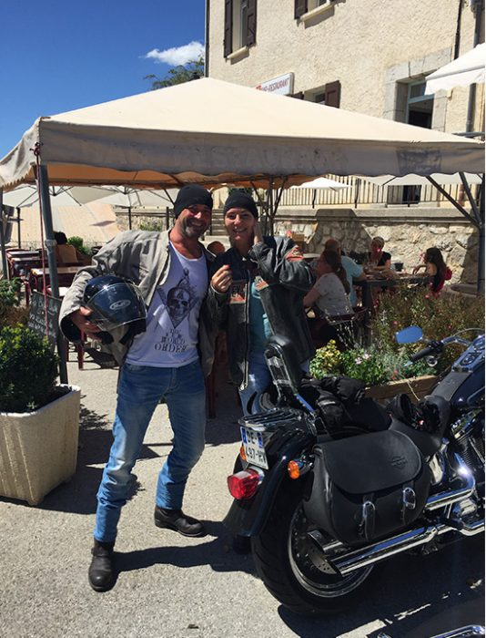 Balade journée location moto