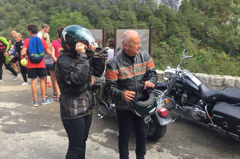 Balade moto organisée à la journée