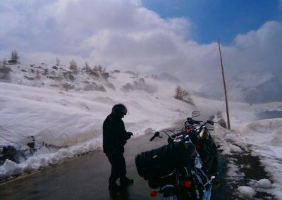Tour en moto dans les alpes du sud