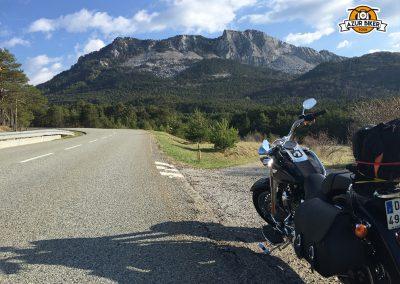 Balade en Harley Davidson