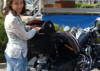 Baptême passager Harley Davidson