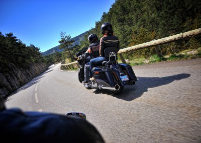 Balade Harley Passager