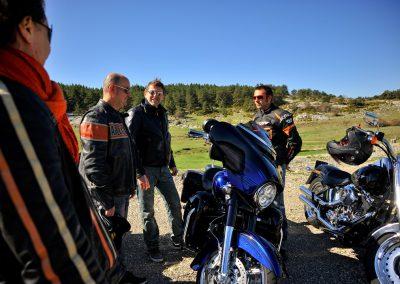 Balade Harley davidson