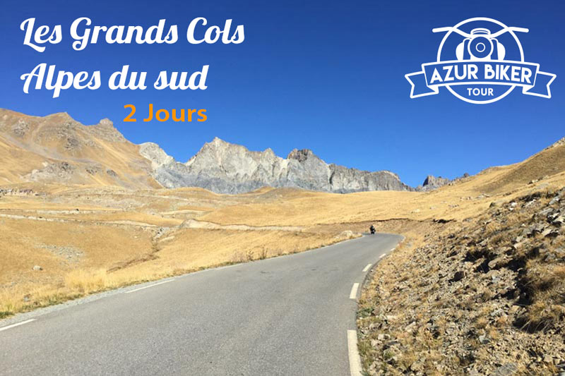 Balade en moto Alpes du sud